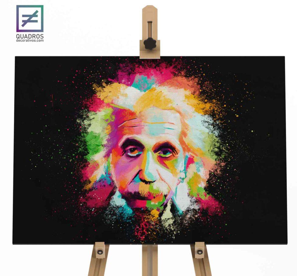 Quadro Albert Einstein