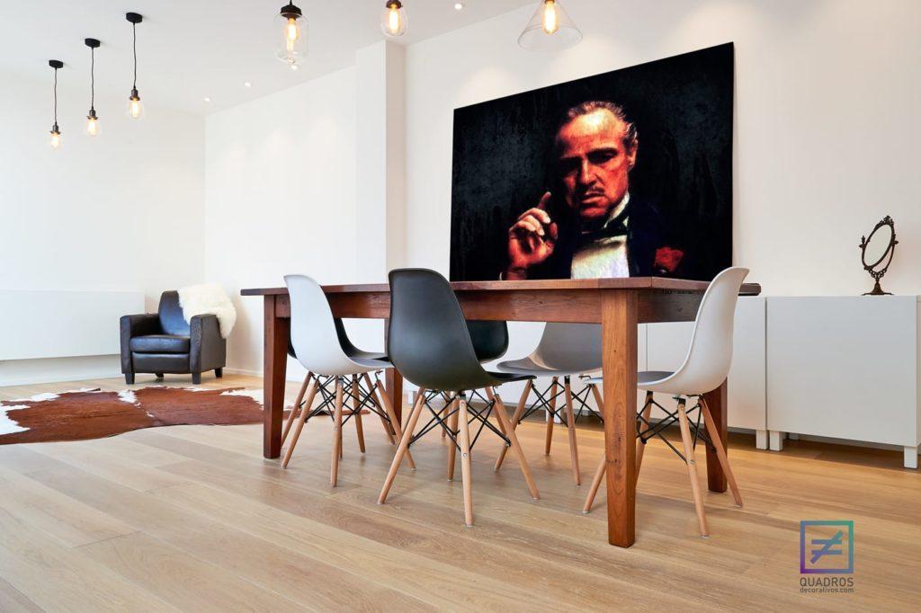 Quadros decorativos para escritório - A regra de Ouro