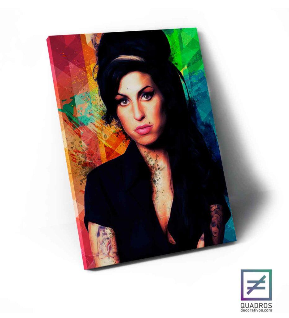 Quadros de Artistas famosos - Amy Winehouse