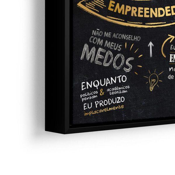 Mentor Milionário – Orgulho Empreendedor em filete com detalhe a esquerda