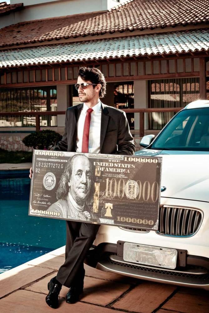 Quadros decorativos 1 milhão de dólares