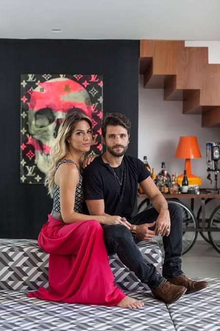 Bruno Gagliasso e Gio Ewbank