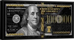 Quadro 1 Milhão de Dólares