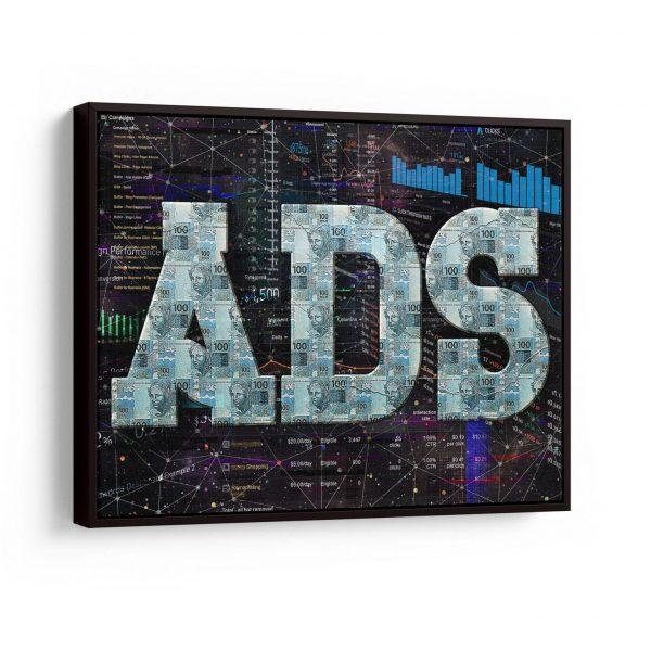 Quadro ADS em filete