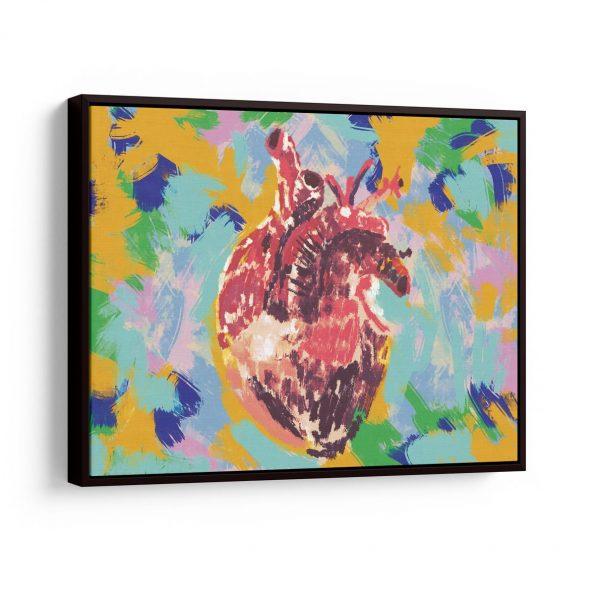Quadro Coração Pulsante em filete