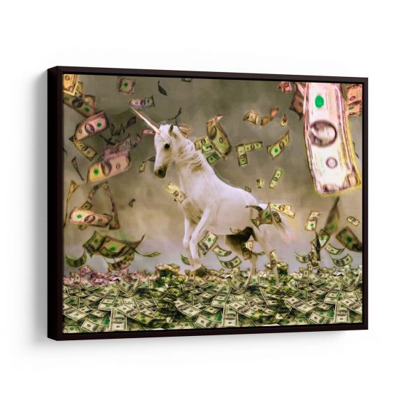 Quadro Business Unicorns em filete