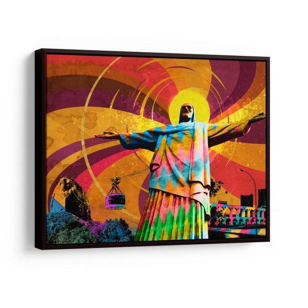 Quadro O Cristo Redentor – Rio de Janeiro em filete