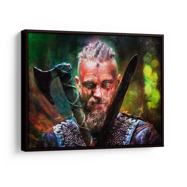 Quadro O rei nórdico em filete