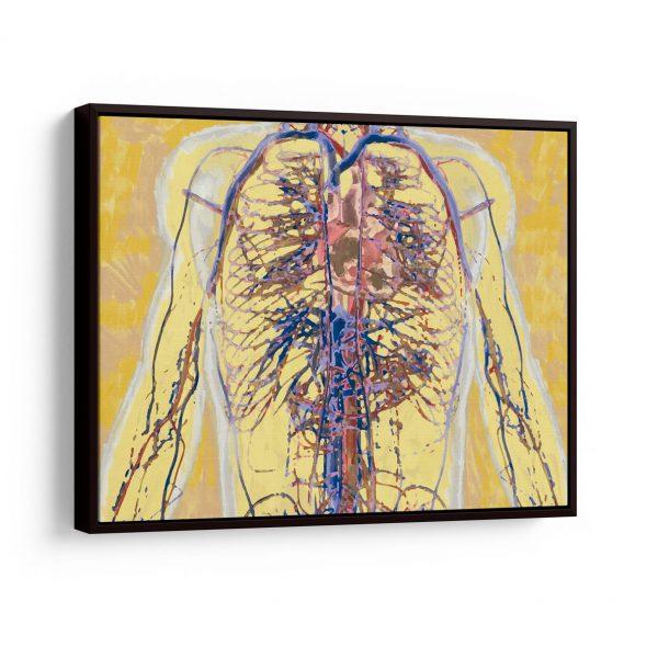 Quadro para Consultório médico – Angiologia em filete