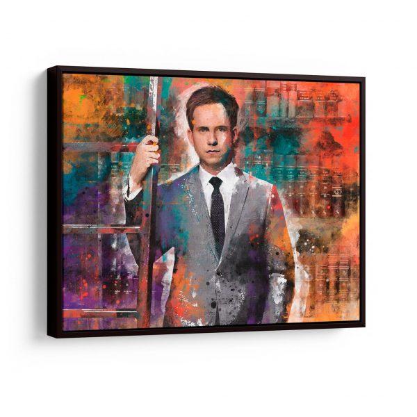 quadros para escritorio de advocacia Quadro O Talento de Um Grande Advogado em filete