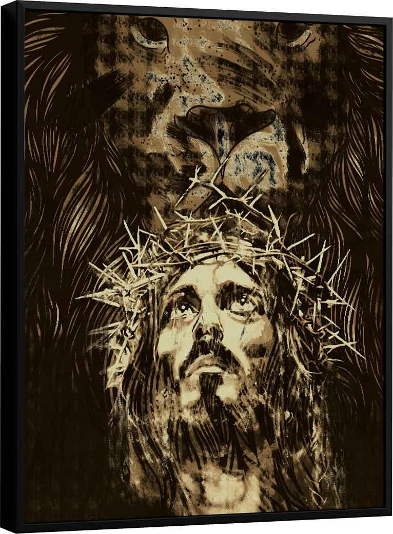 Quadro O Leão da Tribo de Judá Jesus