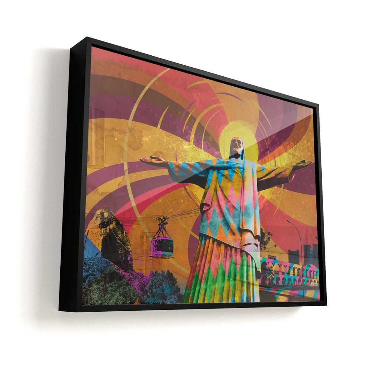 Quadro O Cristo Redentor Rio de Janeiro vidro
