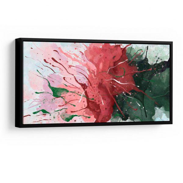 Quadro Abstrato Florescer moldura