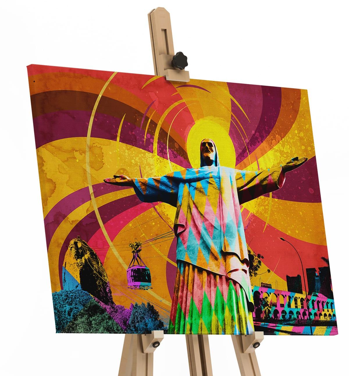 Quadro O Cristo Redentor – Rio de Janeiro em tela
