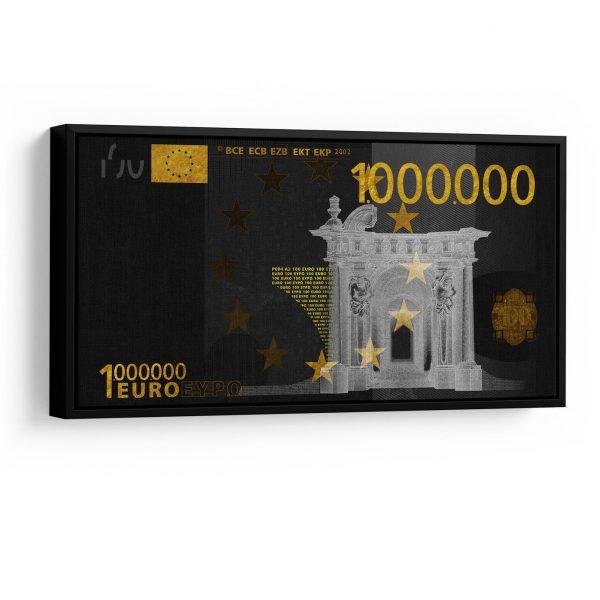 Quadro 1 Milhão de Euros em filete
