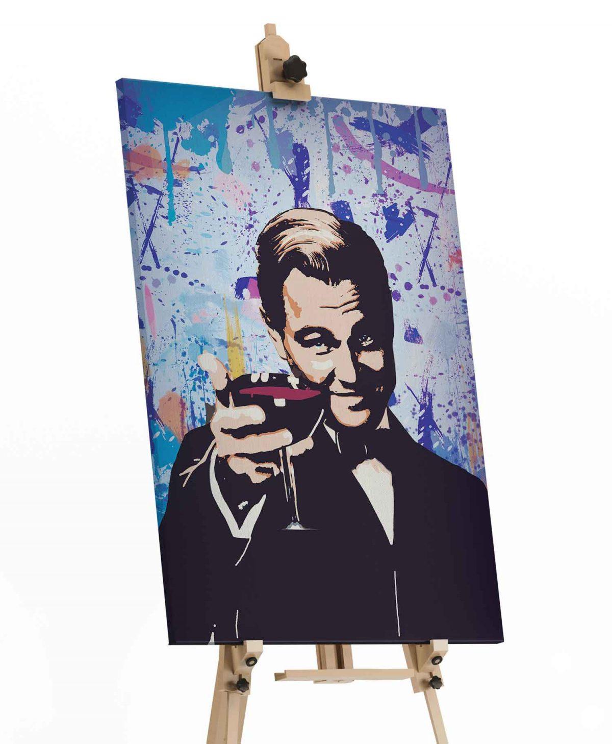 Quadro O Incrível Gatsby em tela com detalhe