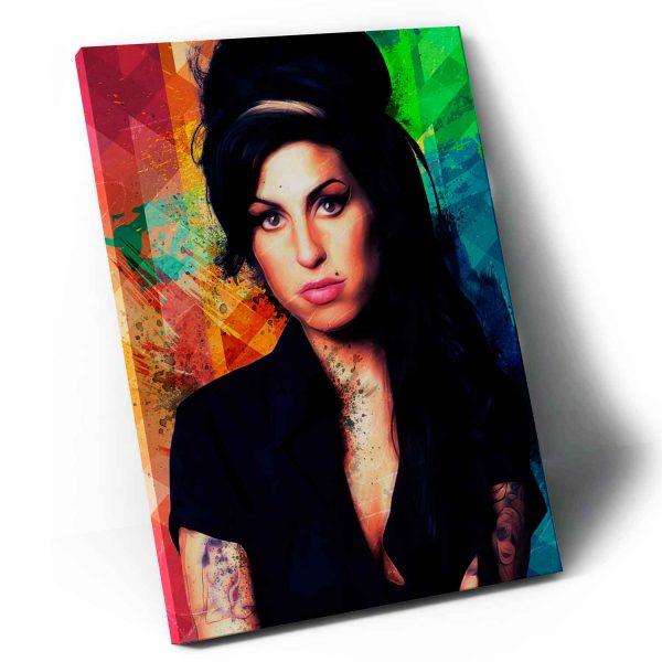Quadro A Incrível Amy Winehouse em tela