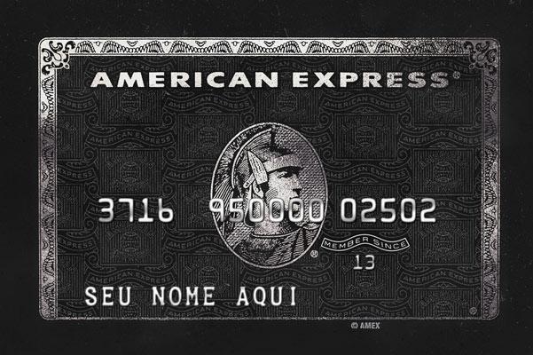 Quadro Personalizado Cartão American Express