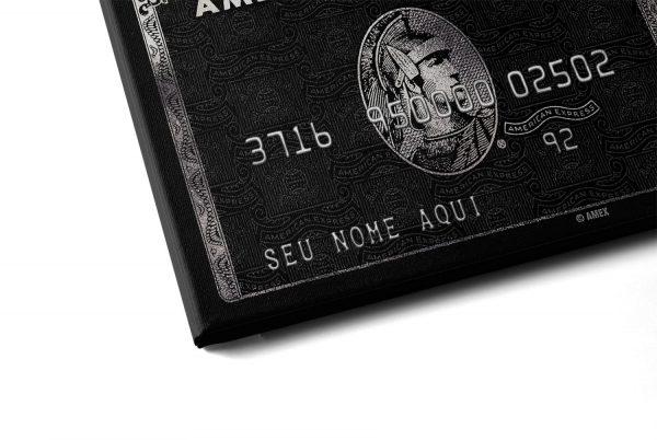 quadro cartão american express