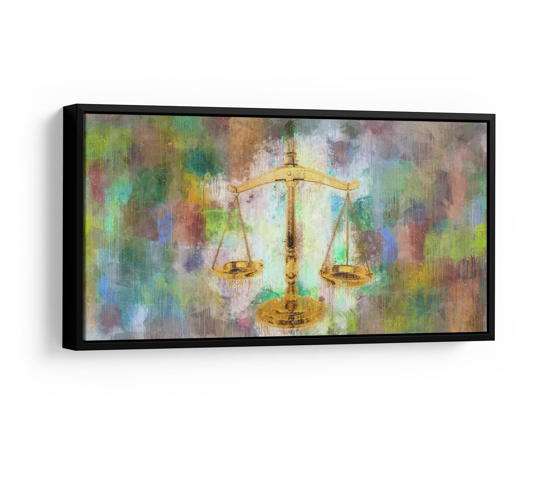 Quadro Balança da Justiça