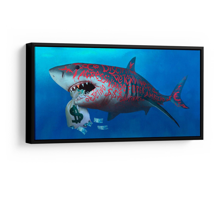 Quadro Tubarão Milionário