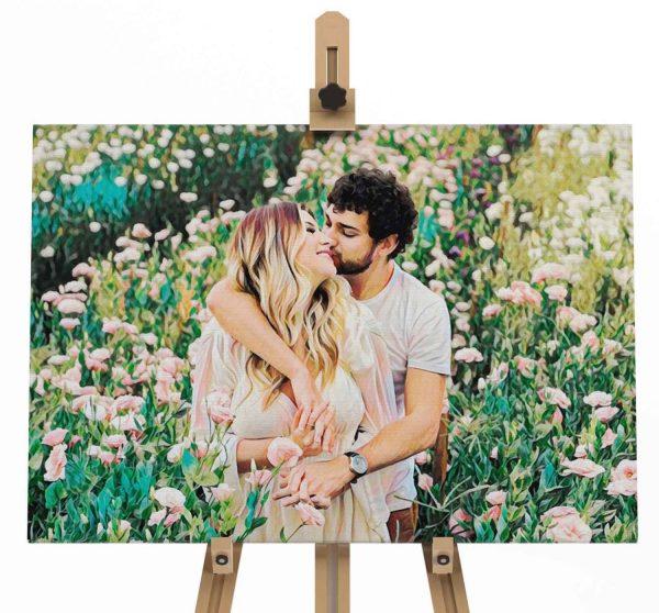 Apresentação pintura namorados