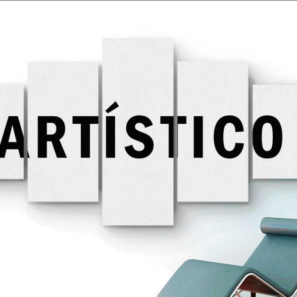 Quadro Artístico 5 peças