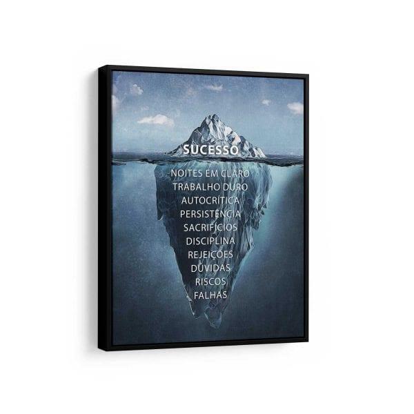 quadros modernos para sala de tv - Iceberg do Sucesso