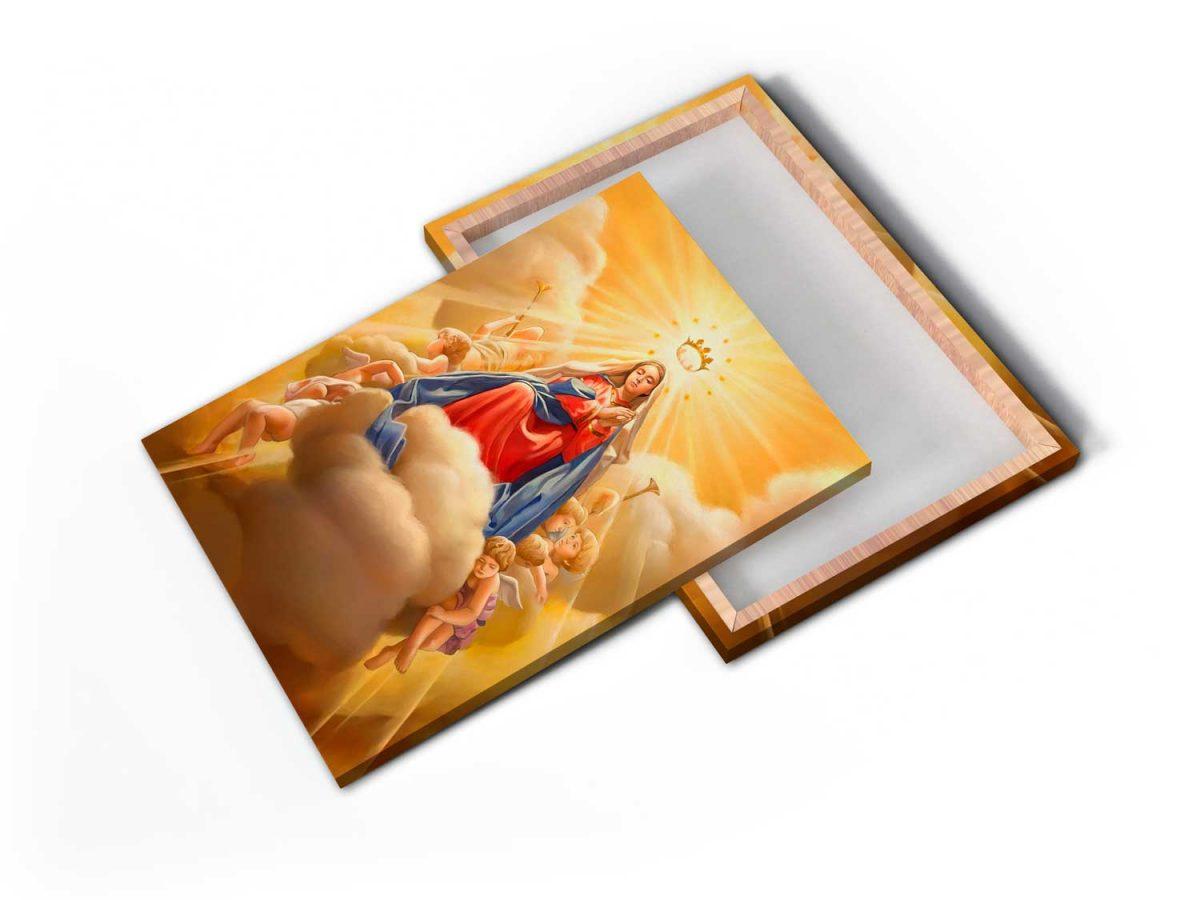 Quadro Maria tela de pintura