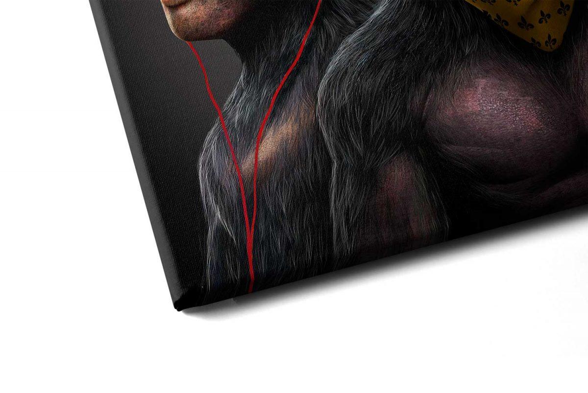 Quadro Gangue dos Macacos detalhe