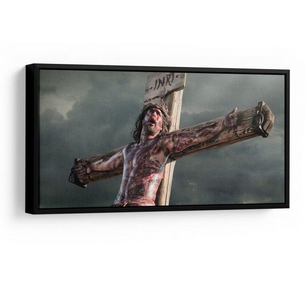 Quadro jesus misericordioso moldura