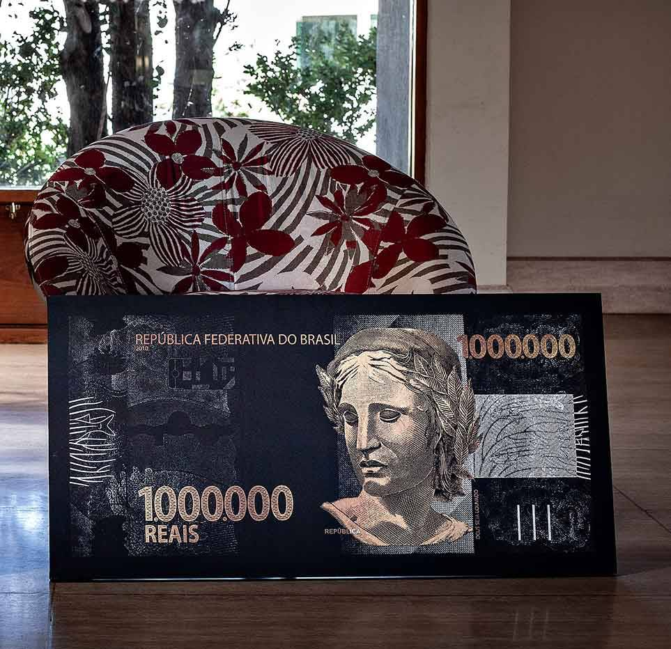quadro 1 milhão de reais para dia dos namorados