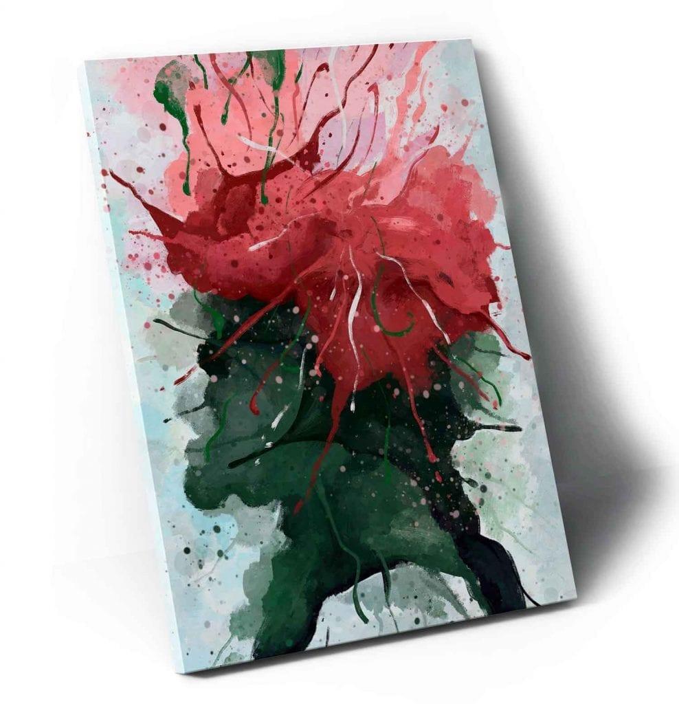 Quadro abstratos coloridos para sala - Florescer
