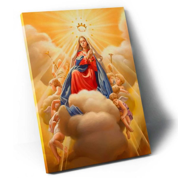 Quadro Maria tela apresentação
