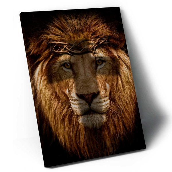 Quadro Leão de Judá apresentação