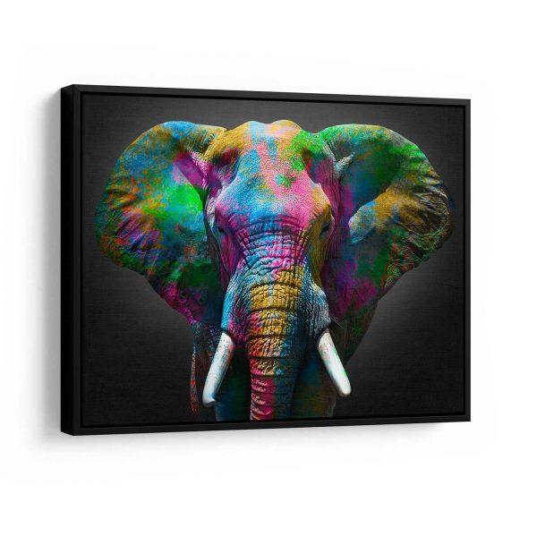 Quadro Elefante moldura
