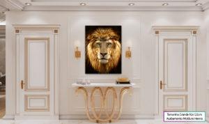 """Quadro """"O Leão de Judá"""""""