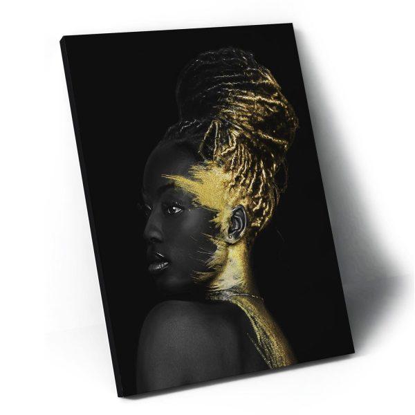 Quadro decorativo mulher africana