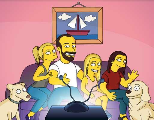 Transforme sua foto em personagens de Os Simpsons