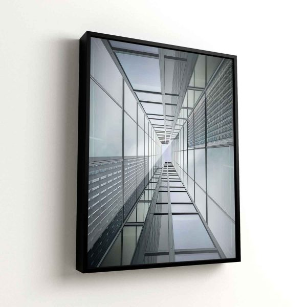 Quadro Abstrato Perspectiva Prédios