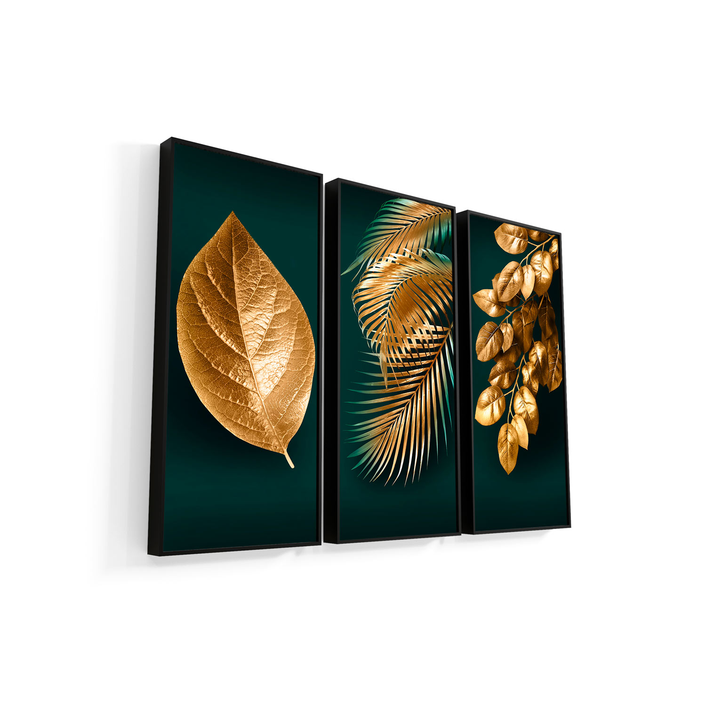 Quadro Decorativo para Sala Folhas