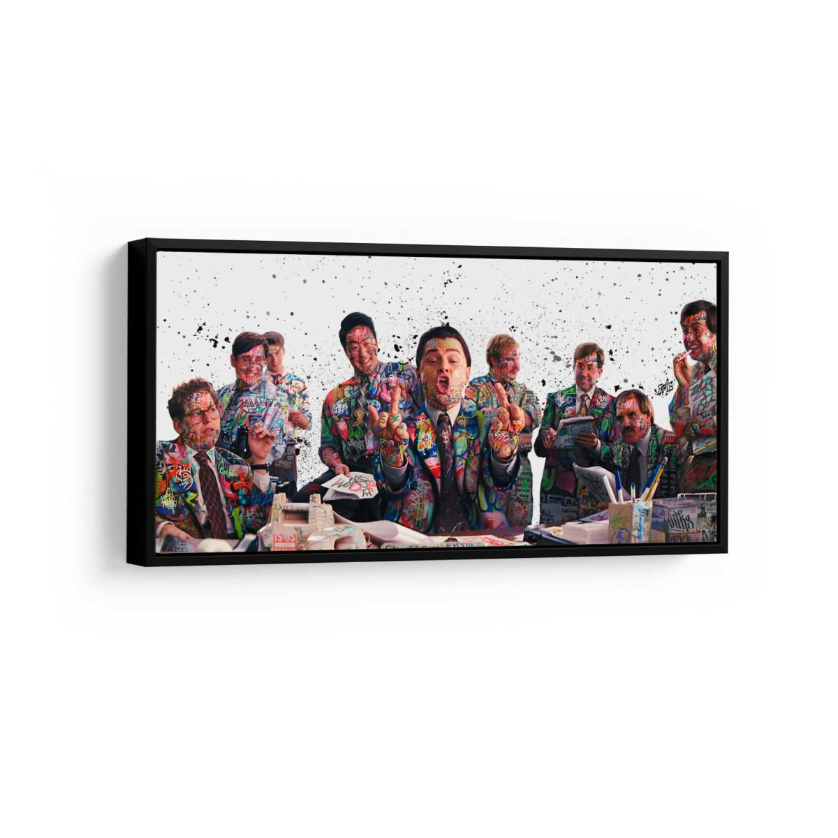 Quadro Decorativo para Empresários escritório O Lobo De Wall Street