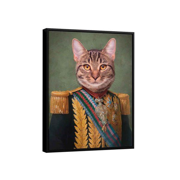 Quadro personalizado com a foto do seu pet dog cat gato cachorro