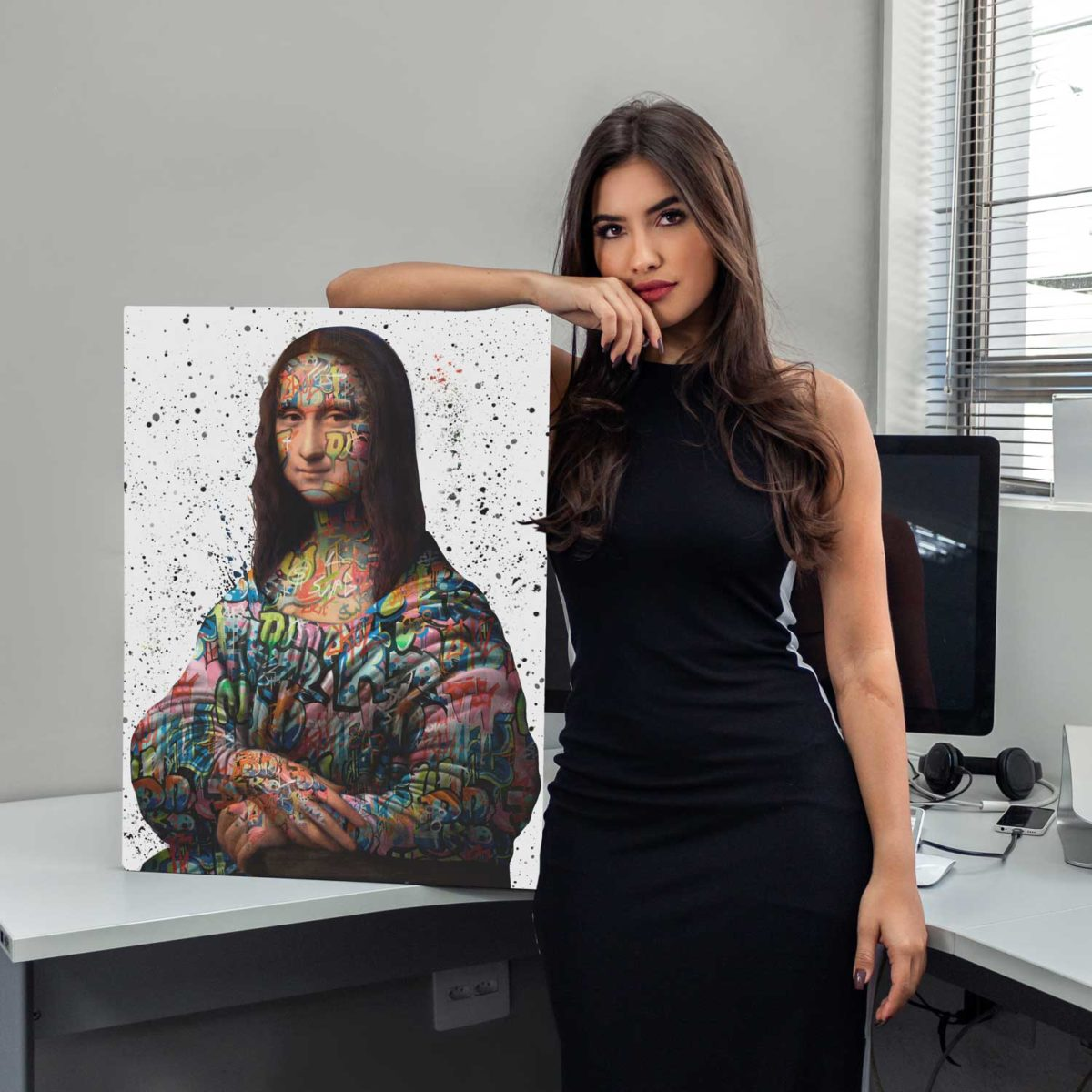 Quadro Mona Lisa Quadro Decorativo