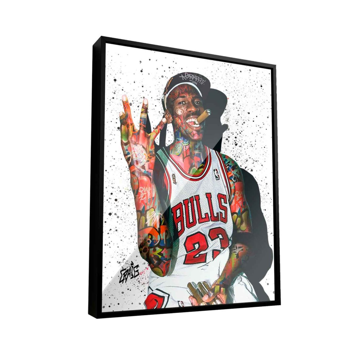 Quadro Michael Jordan Air Jordan