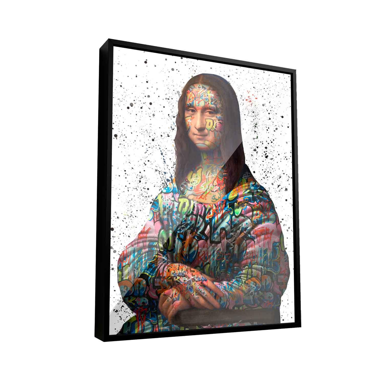 Quadro Mona Lisa Grafite CRAIG