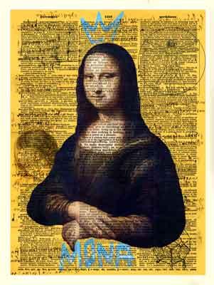 Quadro A Incrível Mona Lisa