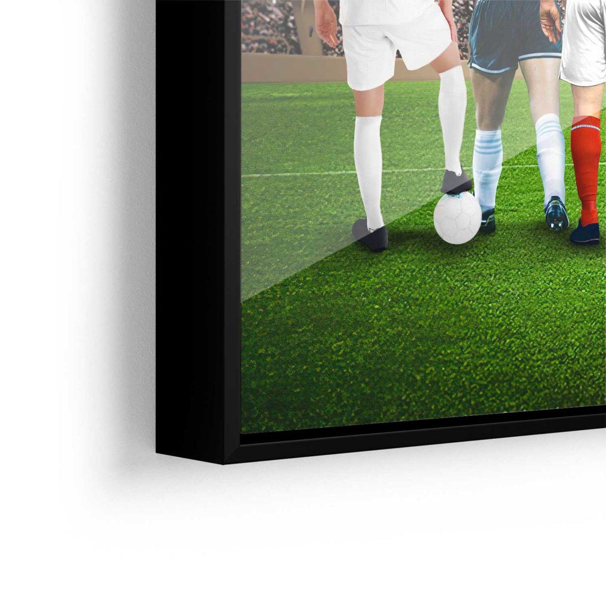 Quadro As Lendas do Futebol