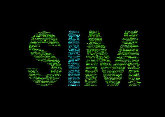 Quadro SIM, Não em 435 Línguas