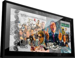 Quadro Nota de Wall Street